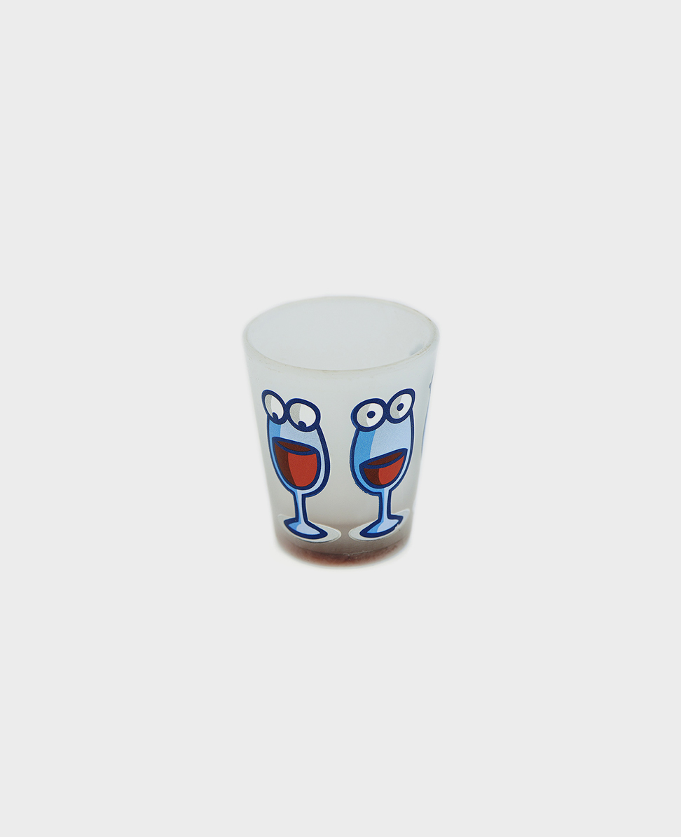 Crash Crash shot glass