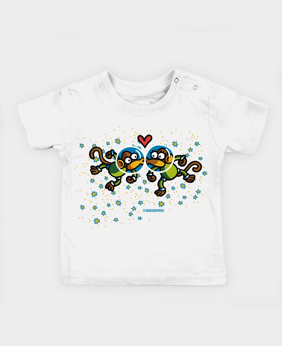 Camiseta bebé Astromonki