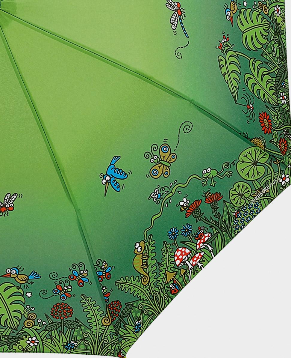 Paraguas original tiffany mini verde