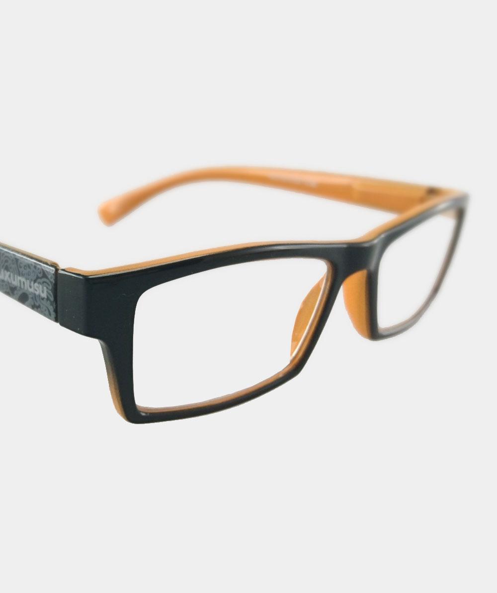 Gafas graduadas negras placton