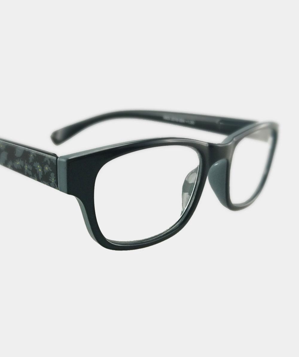 Gafas graduadas negras murcielagos