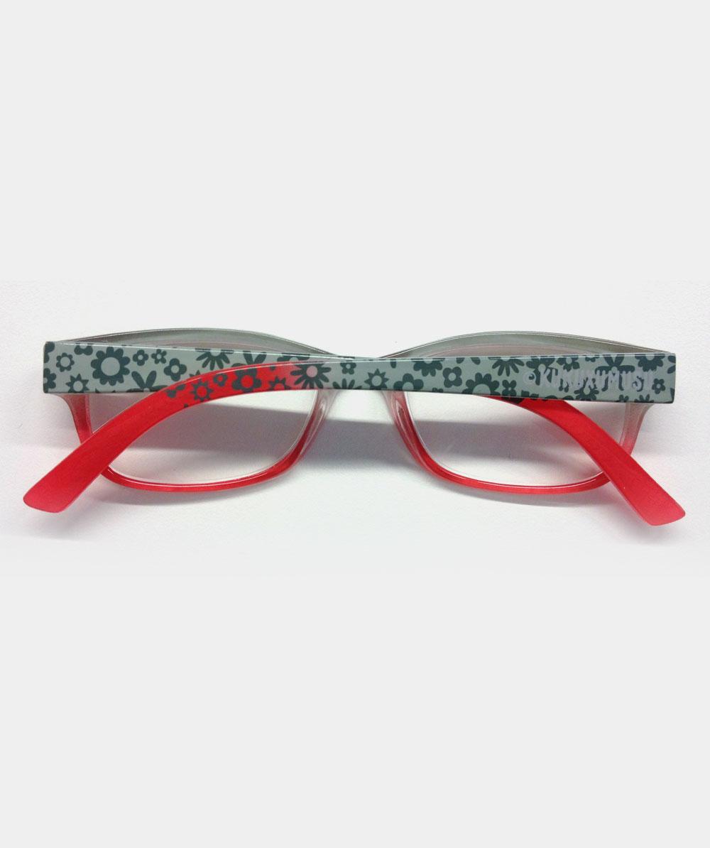 Gafas graduadas rojas loreti