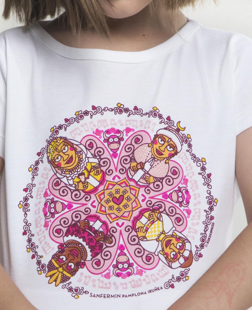 Camiseta niña Reinas 360