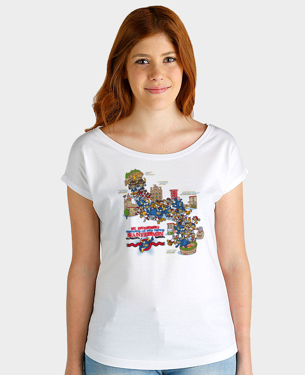 Camiseta mujer Recorrido