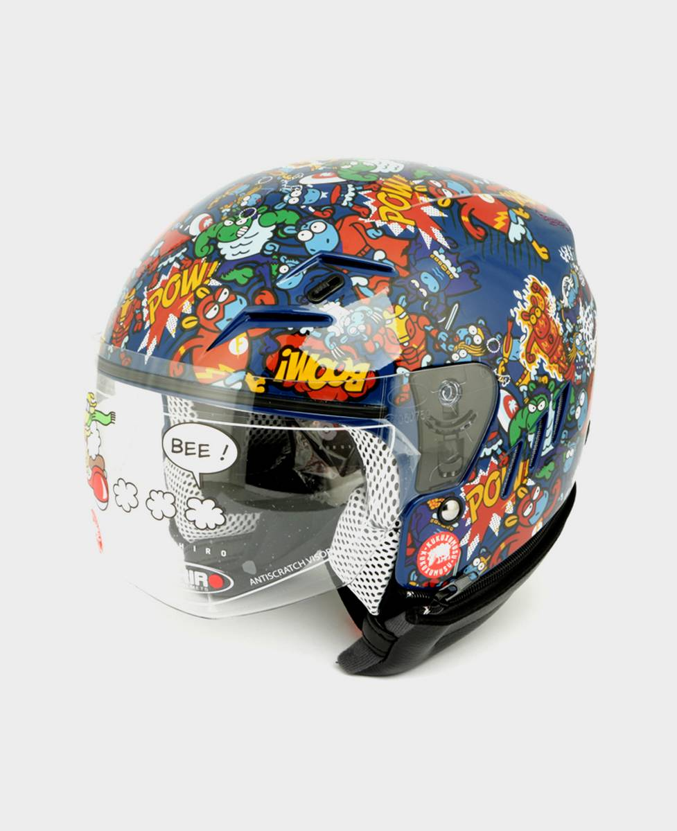 Casco de moto Supersheep Mix
