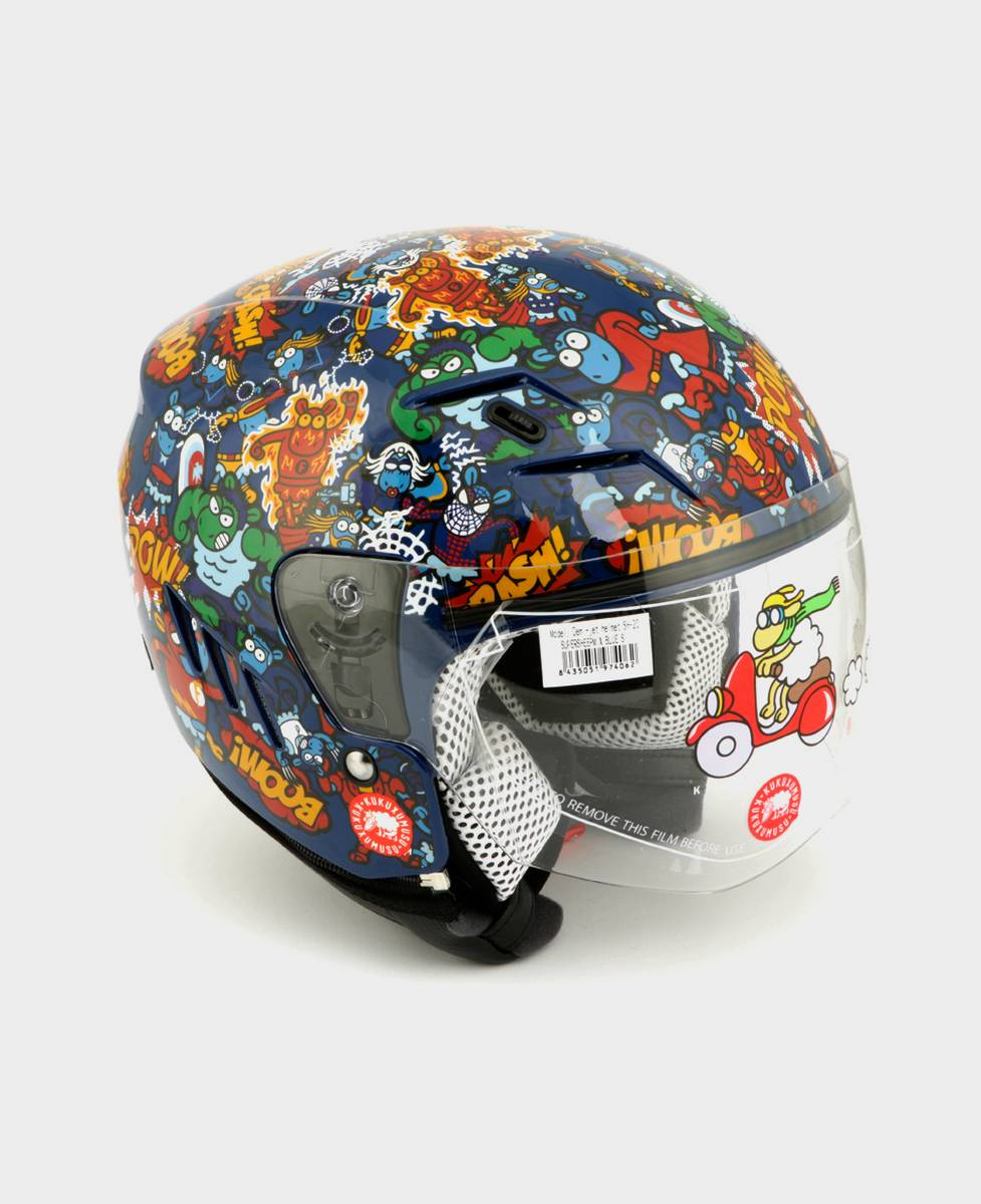 Casco de moto Júnior Supersheep Mix