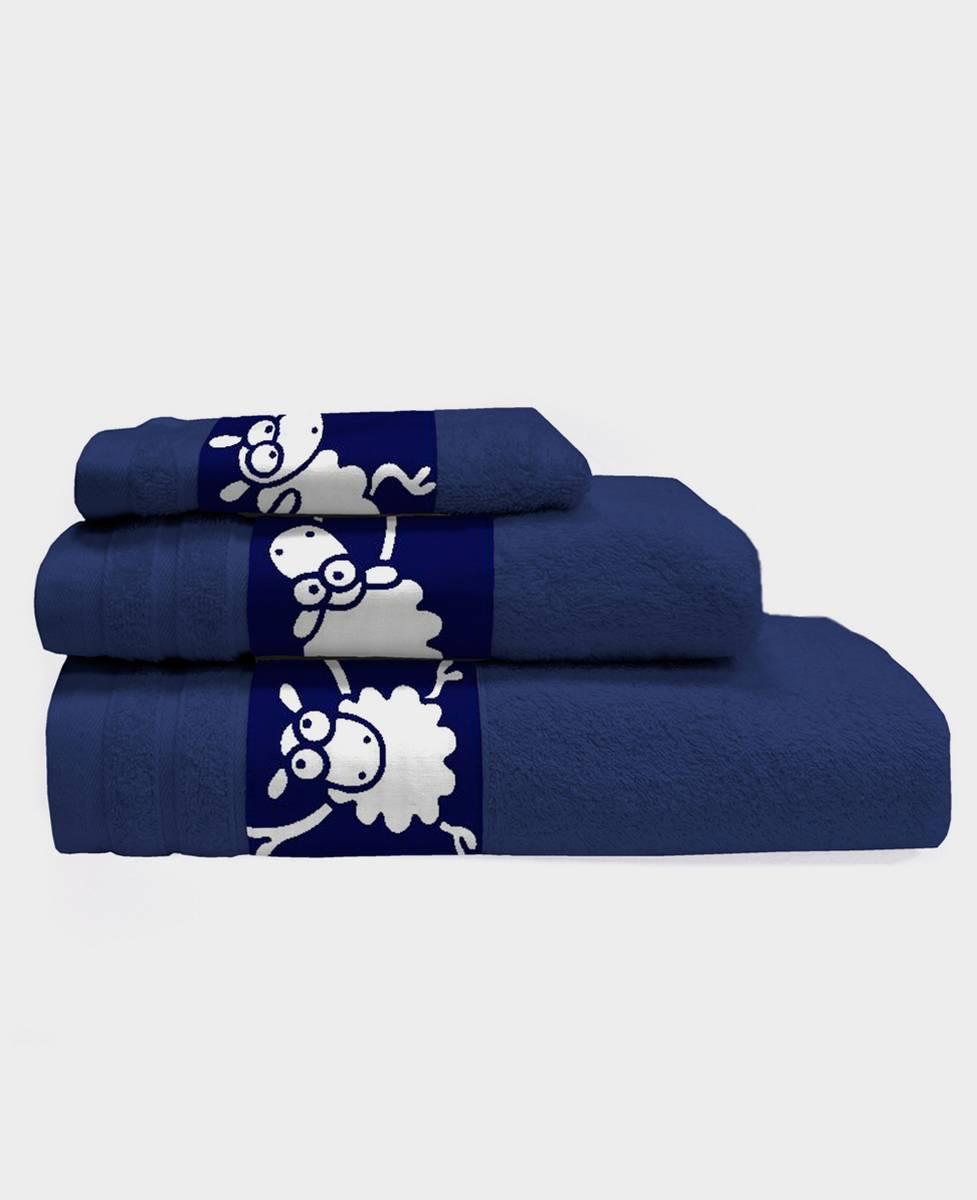 Juego de 3 toallas de baño Kaput