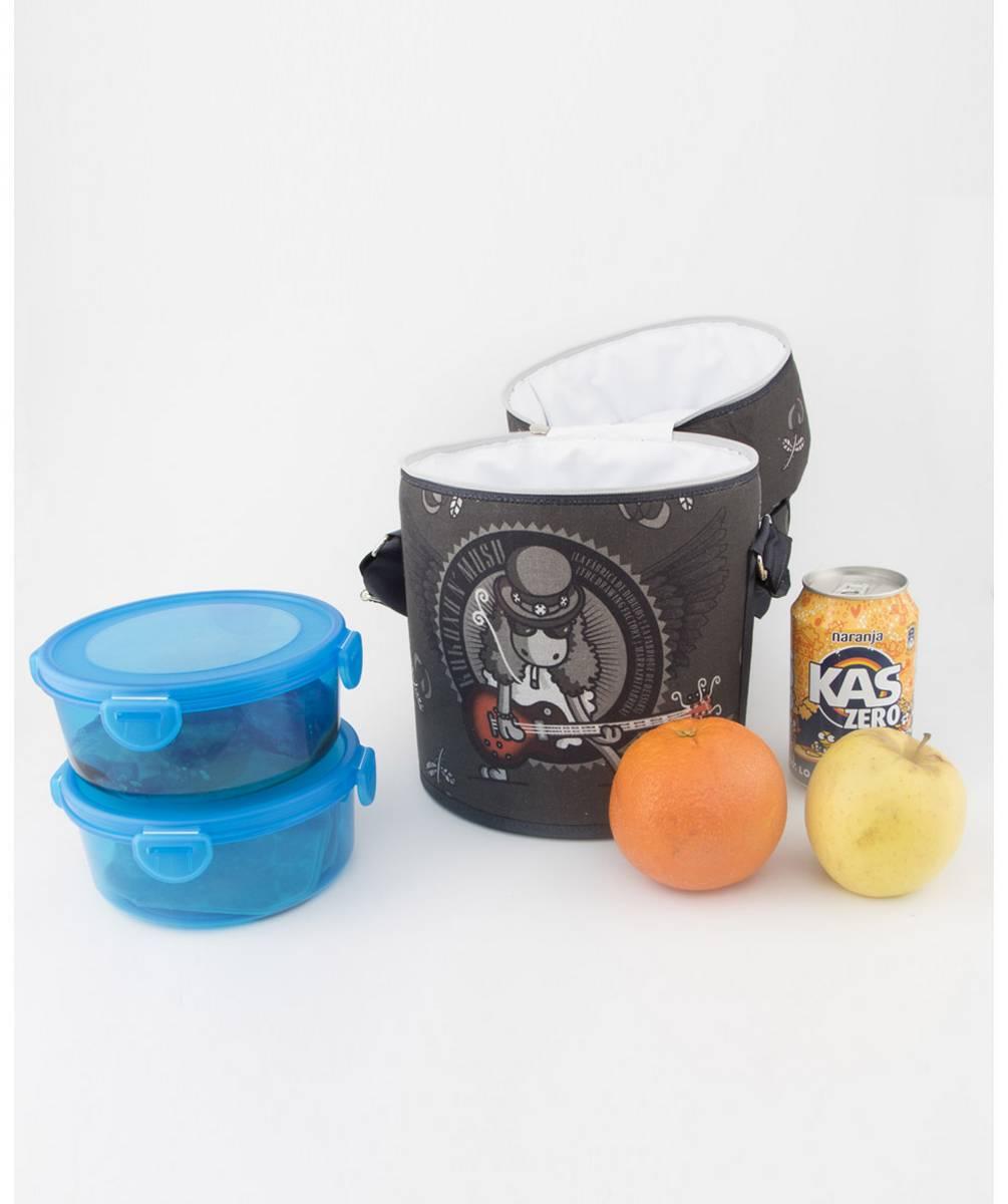 Porta Alimentos Isotérmico Roller Guitar Hero
