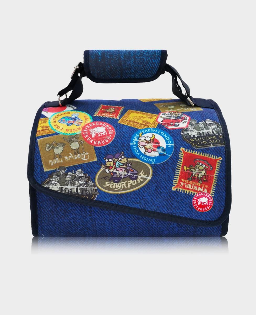 Porta Alimentos Isotérmico Travel Stamps