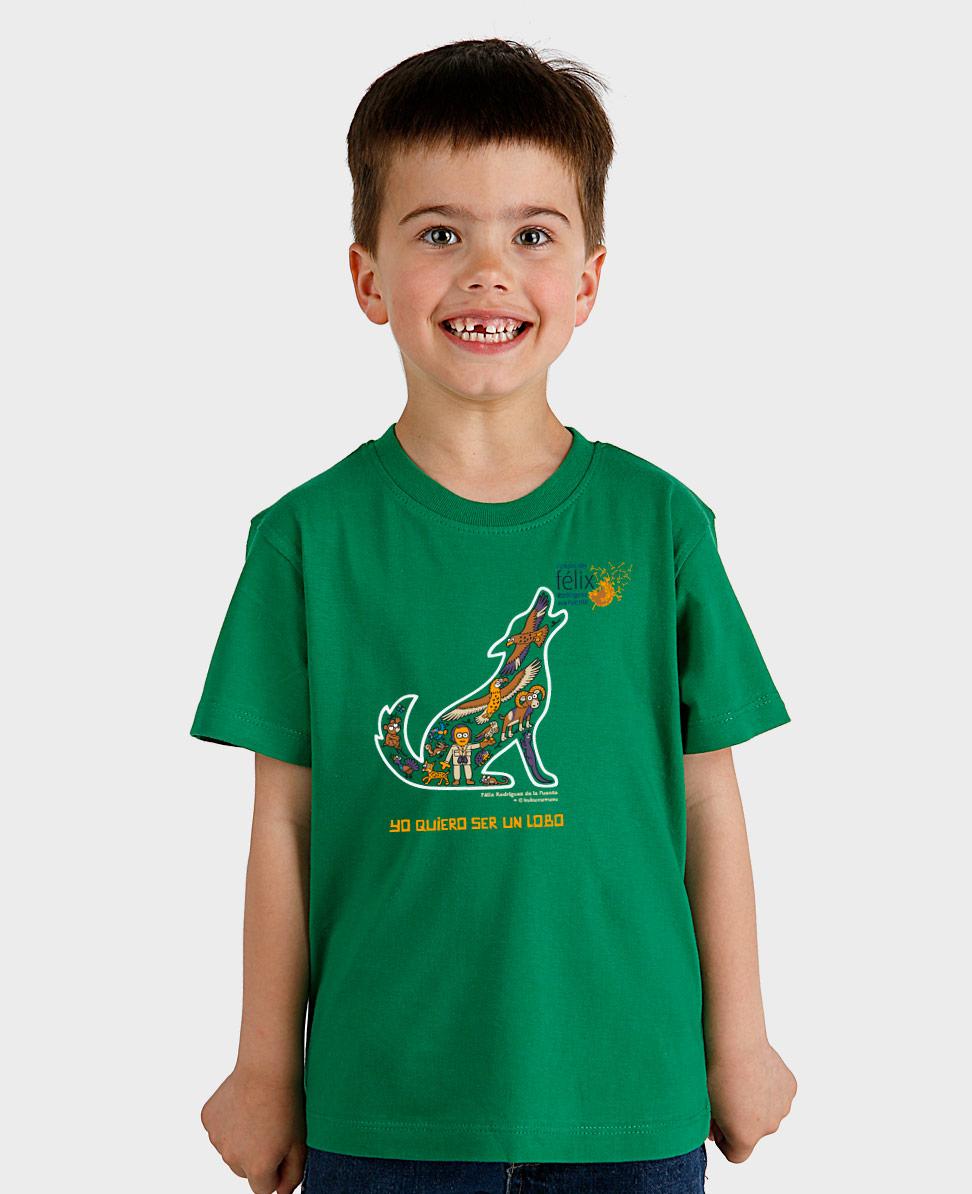 Camiseta niño Felix Lobo