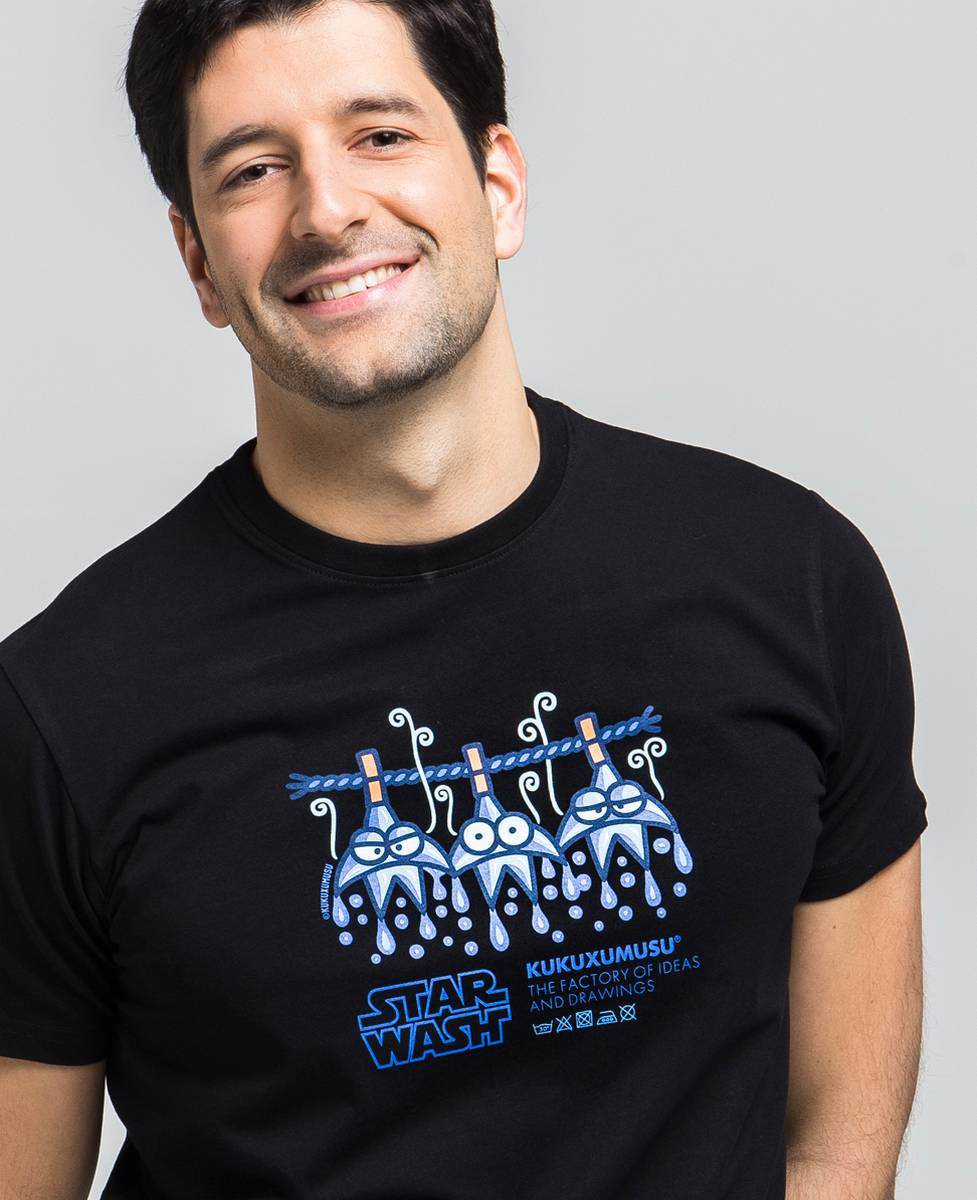 Camiseta hombre Star Wash