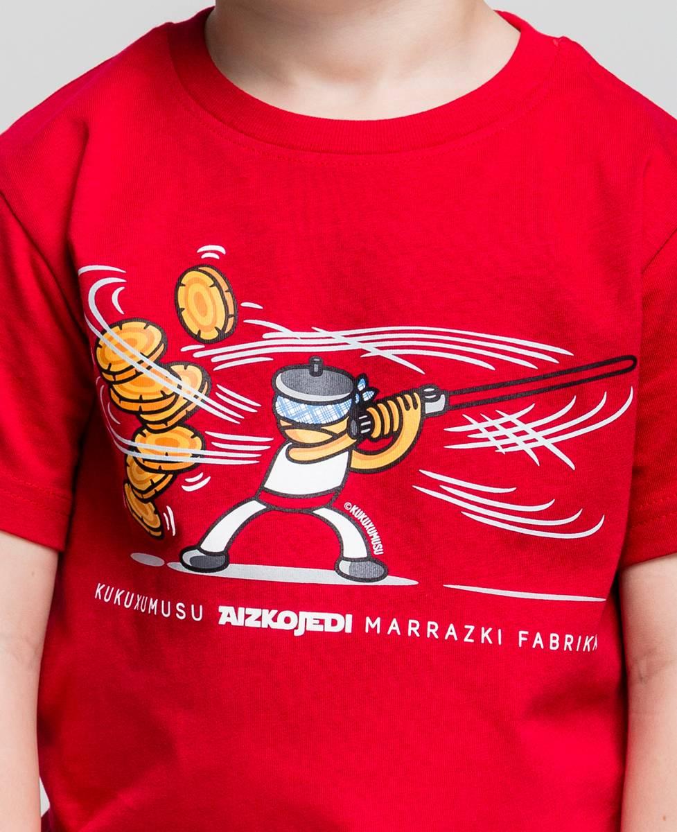 Camiseta niño Aizkojedi