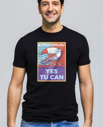 Camiseta Hombre Yes Tu Can