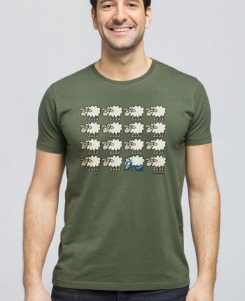 Camiseta Hombre Escondido