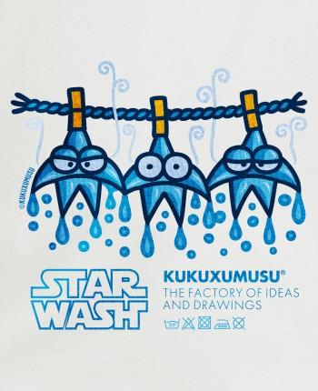 Camiseta Mujer Star Wash