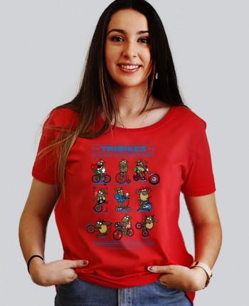 Camiseta Mujer Tribikes