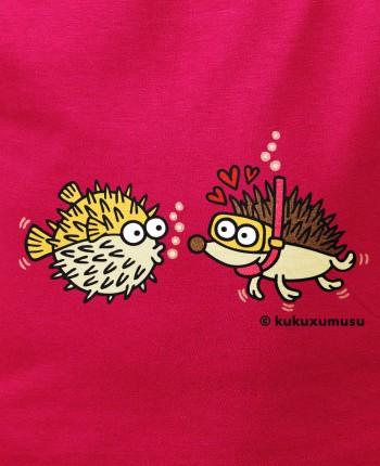 Camiseta de niña Ming Chao en Rosa