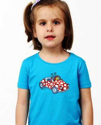 Camiseta niña Mary azul