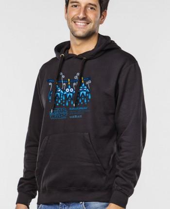 Men´s hoodie Star Wash