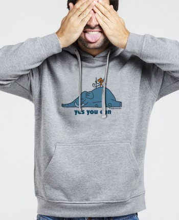 Men´s hoodie Supermouse