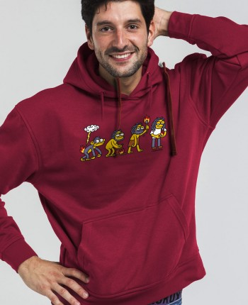 Men´s hoodie Rastafire
