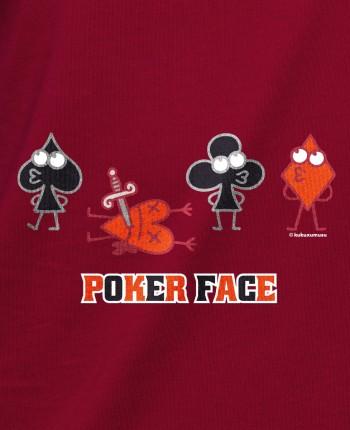 Men´s hoodie Poker Face