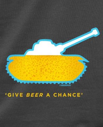 Men´s hoodie Beer Tank