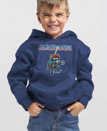 Sudadera capucha niño DC/AN