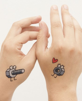 Tattoos Enrosque (set of 2)