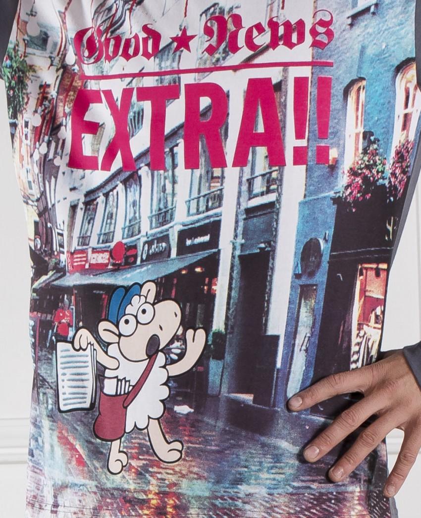 Pijama de hombre Oveja Extra News