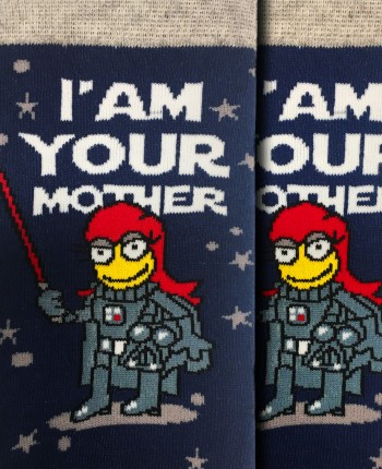 Women's socks Darth Mother