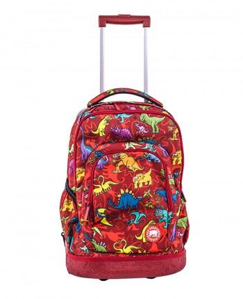 School trolley bag Dinos