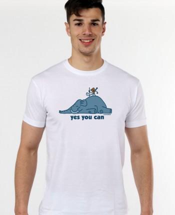Camiseta de hombre Supermouse Blanca