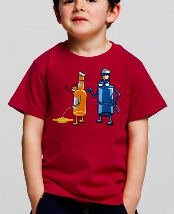 Camiseta niño Aguafiestas
