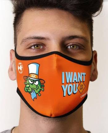 Adult's Mask Want-you (head...