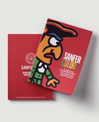 Sanfercolors Coloring Book