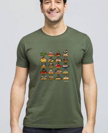 Man T-shirt Pintxoak