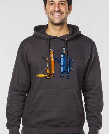 Men´s hoodie Aguafiestas