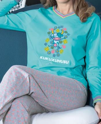 Pijama mujer Vacaline