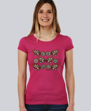Camiseta mujer Celtivaca