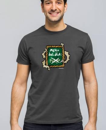 Camiseta hombre Menú del día