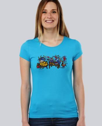 Camiseta mujer Paellera