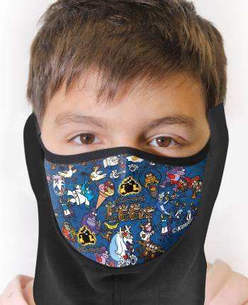 Neck warmer for kids with...