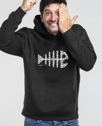 Sudadera capucha hombre Raspa