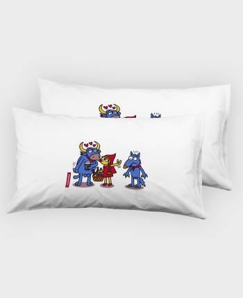 Pillow Case, 2 units (50x75...