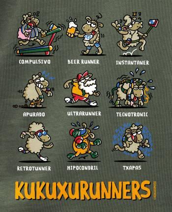 Camiseta hombre Kukuxuruners