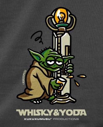 Camiseta hombre Whisky Yoda