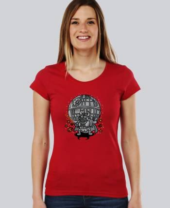 Camiseta mujer Bull Vader