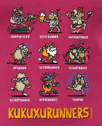 Camiseta mujer Kukuxuruners