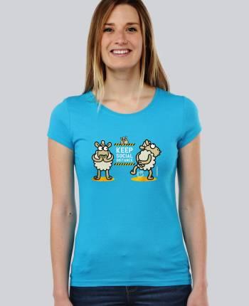 Camiseta mujer Social Distance